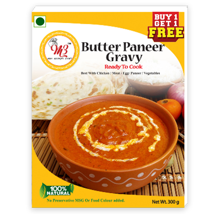 Ready to cook Butter Paneer Gravy